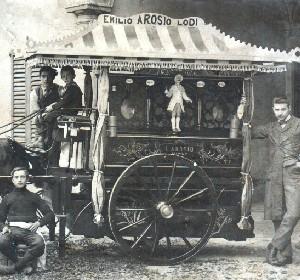 Carro pubblicitario 1900